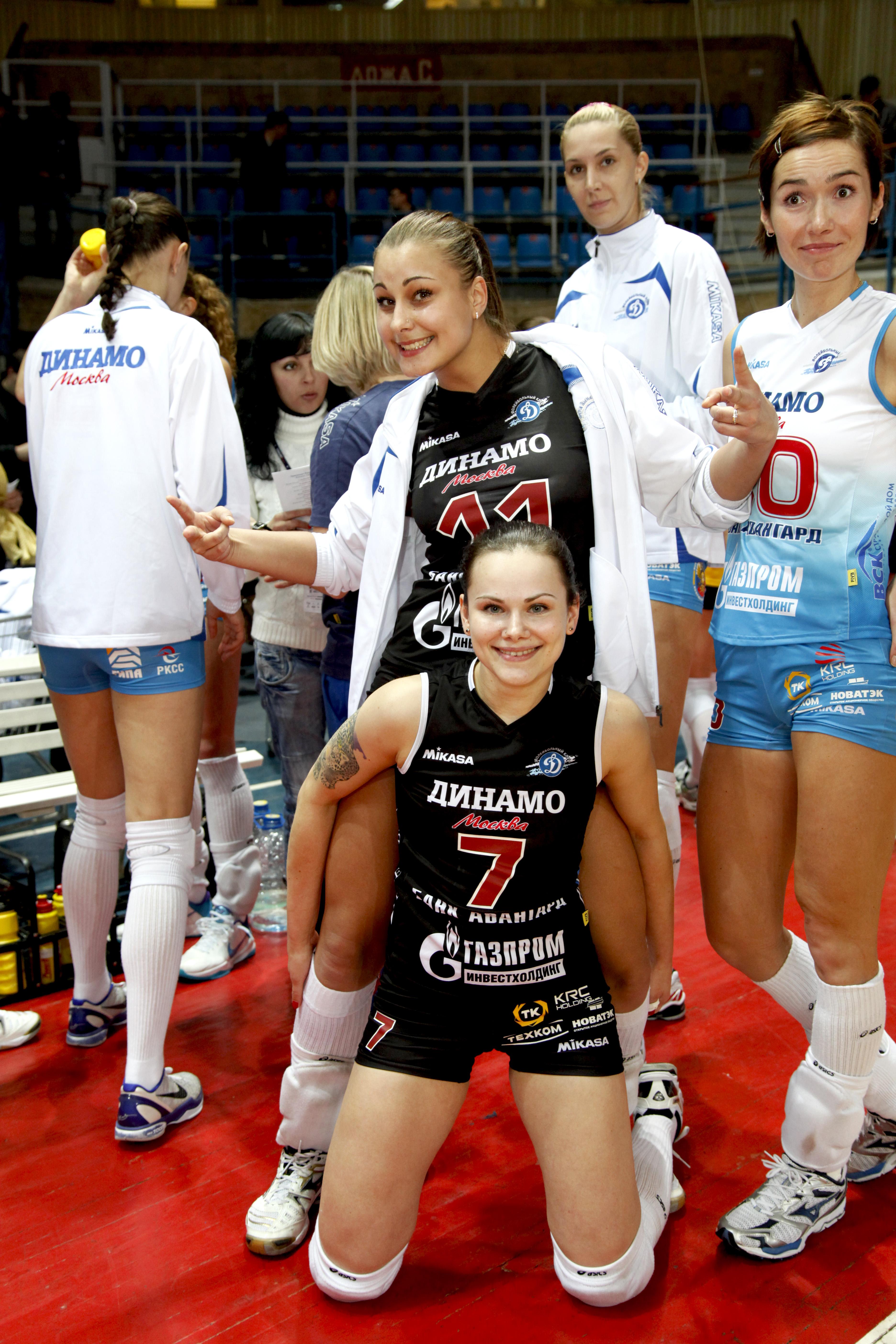 Даша  «Я приехала из родного города в Москву, когда меня пригласили в  детскую спортивную школу