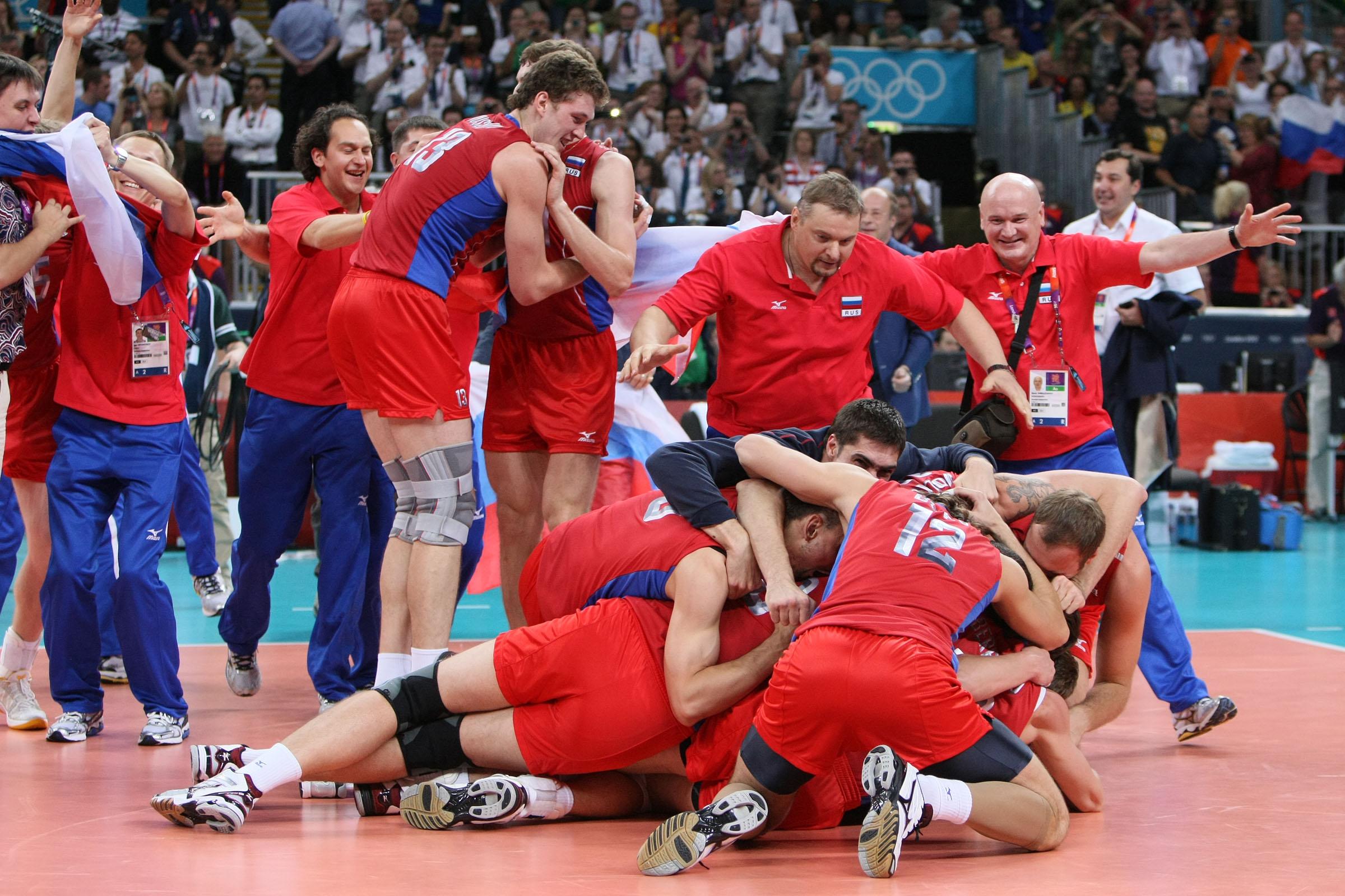 по волейболу сборной россии: